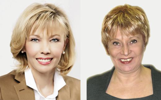 Doris Schröder-Köpf, Siegrid Leuschner