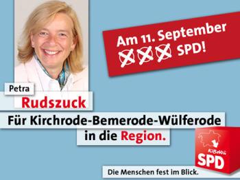 Regionskandidatin Petra Rudszuck